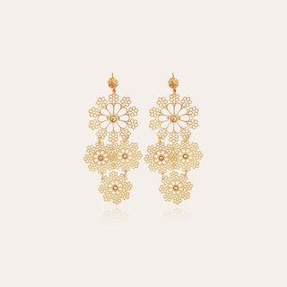 Neige earrings mini Gold