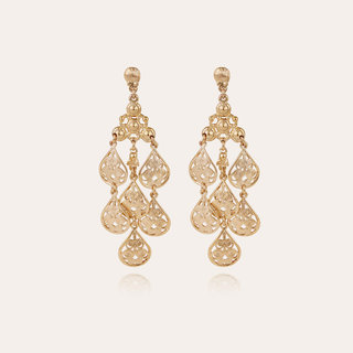 Orferia earrings small size gold