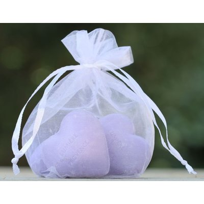 4 hartzeepjes lavendel