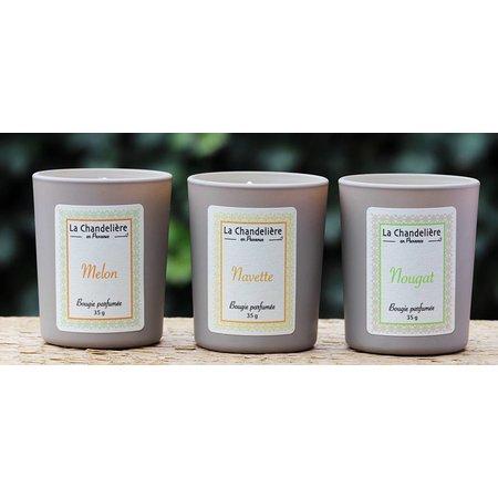 Box met 6 mini geurkaarsjes Provence