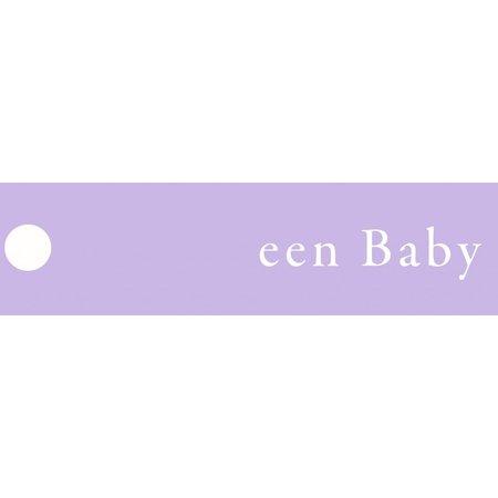 Lavendelzakje met tekst: baby