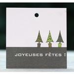 Franse kerstkaarten en cadeaulabels