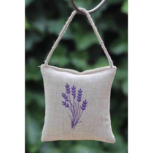 Lavendelzakjes met logo