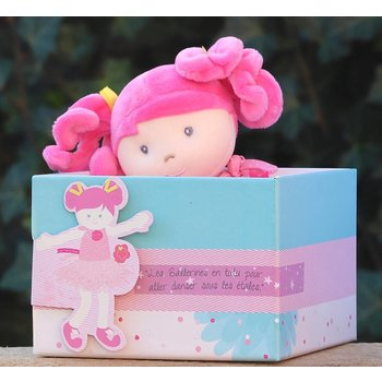 Doudou et Compagnie de Paris Pop Rose met tutu