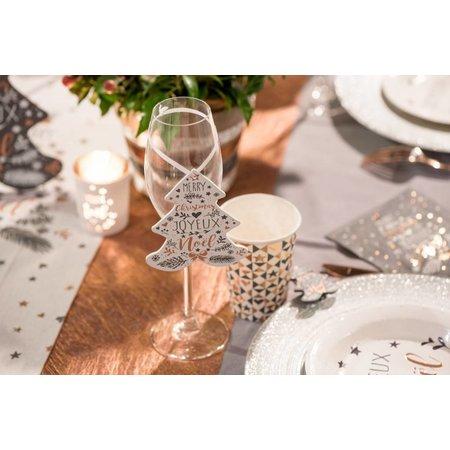 Hanger kerstboom grijs