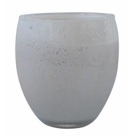 Geparfumeerde kaars Perle wit