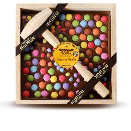 Gepersonaliseerd kistje chocolade