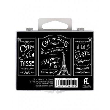 Set magneten Café de Paris