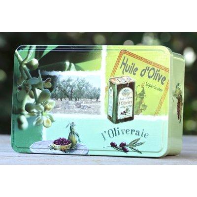 Leeg blik Huile d'olive