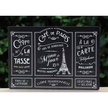 Editions A. Leconte Placemat Café