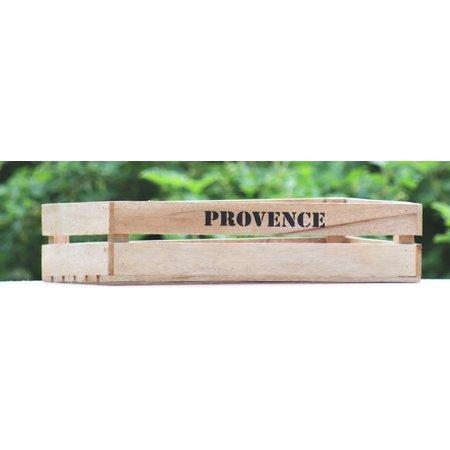Grote houten kist Provence