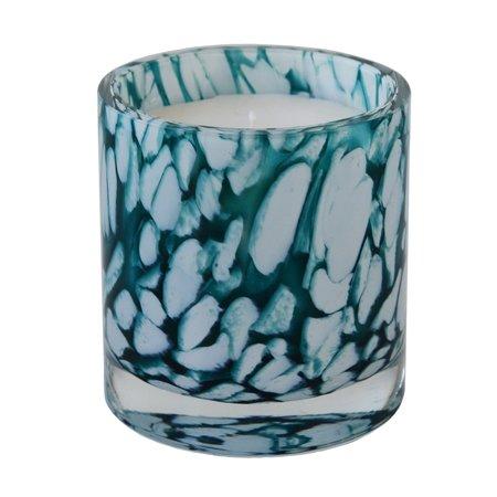 Gepersonaliseerde kaars in Milano glas