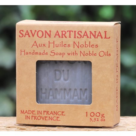 Kraftdoosje met zeep in de geur hammam