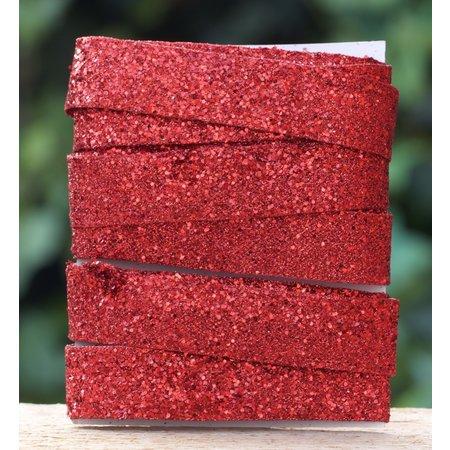 Rood glitterlint