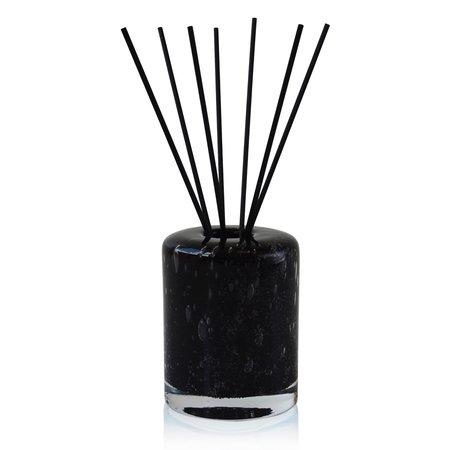 Geurstokjes Perle in zwart glas