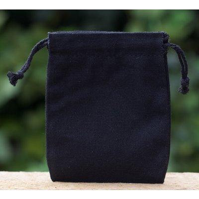 Zakjes zwart zonder boord