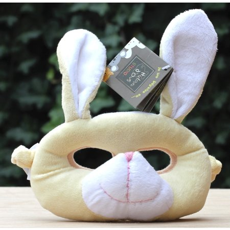 Pluche masker konijn