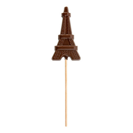 Chocoladelollie Eiffeltoren melkchocolade