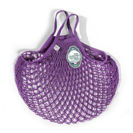 Nettasje met handvatten paars