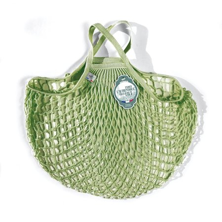 Boodschappennetje met handvatten groen