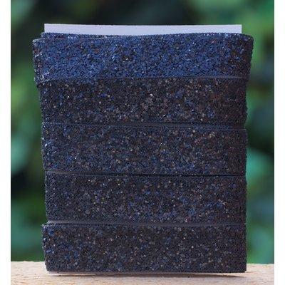 Glitterlint zwart