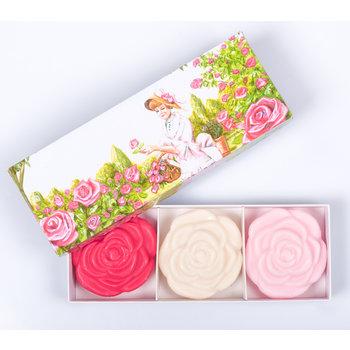Savonnerie de Nyons Zeepdoos rozen
