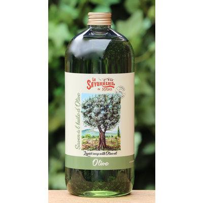 Literfles zeep olijven