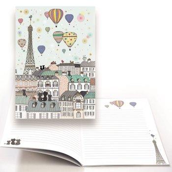Cartes d'Art Paris Schrift luchtballon