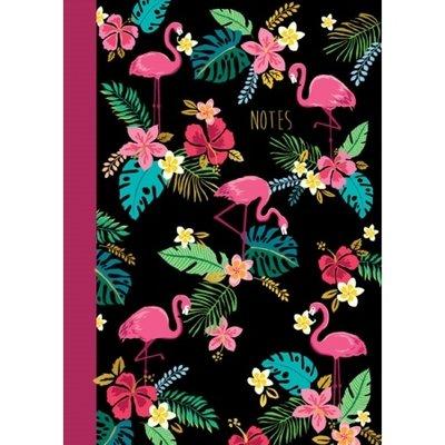 Schrift flamingo's