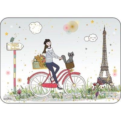 Ansichtkaart fietsen