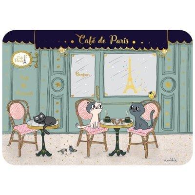 Ansichtkaart Café Parijs