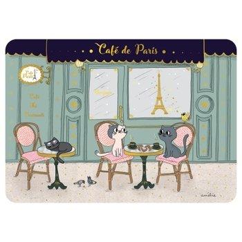 Cartes d'Art Paris Placemat Café Parijs