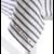 Frans tafelkleed met naturel strepen