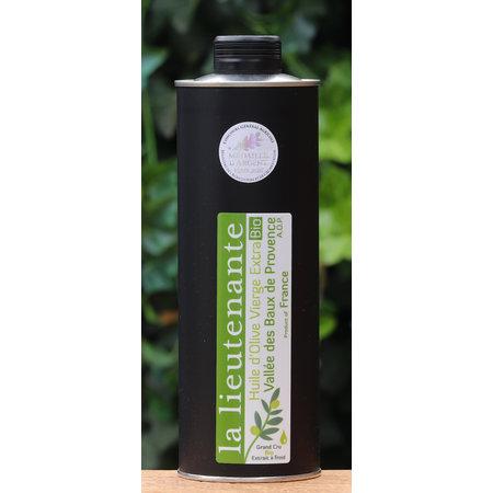Biologische olijfolie van groene olijven