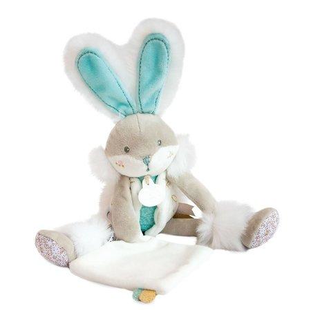 Knuffel turquoise konijn