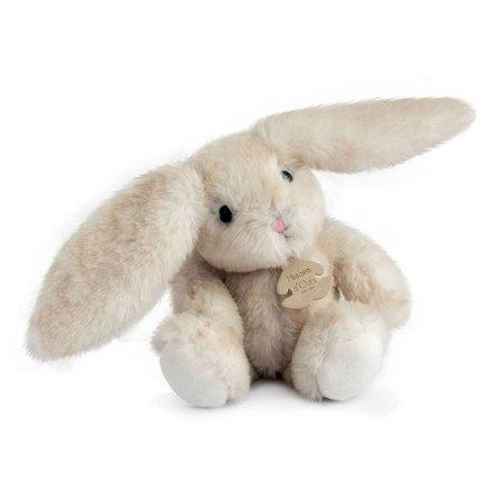Beige knuffel konijn Fluffy klein