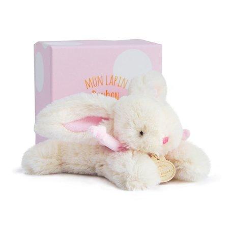 Klein knuffel konijntje roze