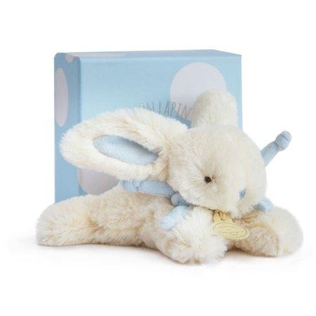 Blauw knuffel konijntje Bonbon