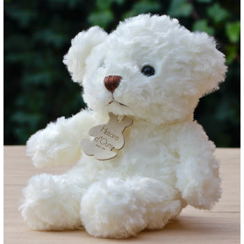 Histoire d'ours Beertje wit