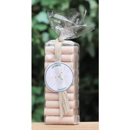 Pakje met 10 gastenzeepjes jasmijn
