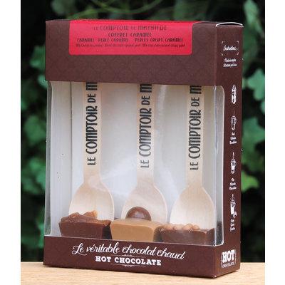 Chocoladelepels caramel