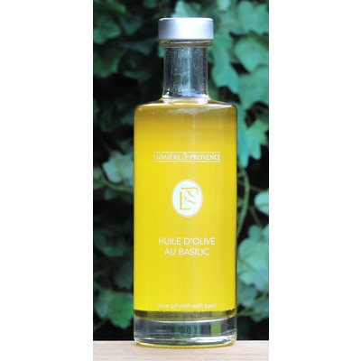 Fles olijfolie met logo