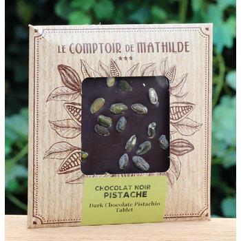 Le Comptoir de Mathilde Tablet met pistache
