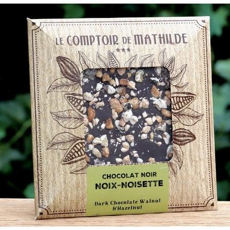 Chocoladetablet met hazelnoten