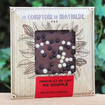 Le Comptoir de Mathilde Tablet met pofrijst