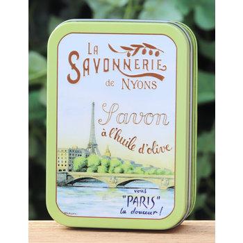 Savonnerie de Nyons Blik zeep groot Seine