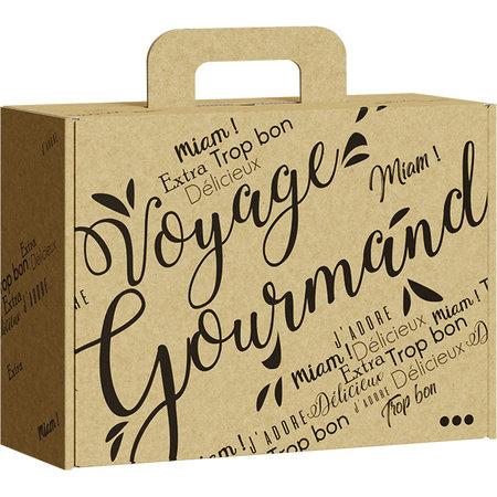 Pakket met Franse delicatessen