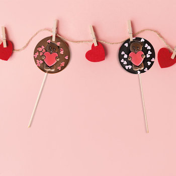 Le Comptoir de Mathilde Chocoladelollie hartjes