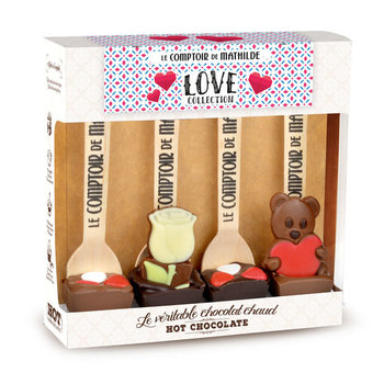 Le Comptoir de Mathilde Chocoladelepels  love