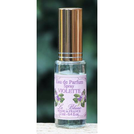 Miniflesje eau de parfum viooltjes